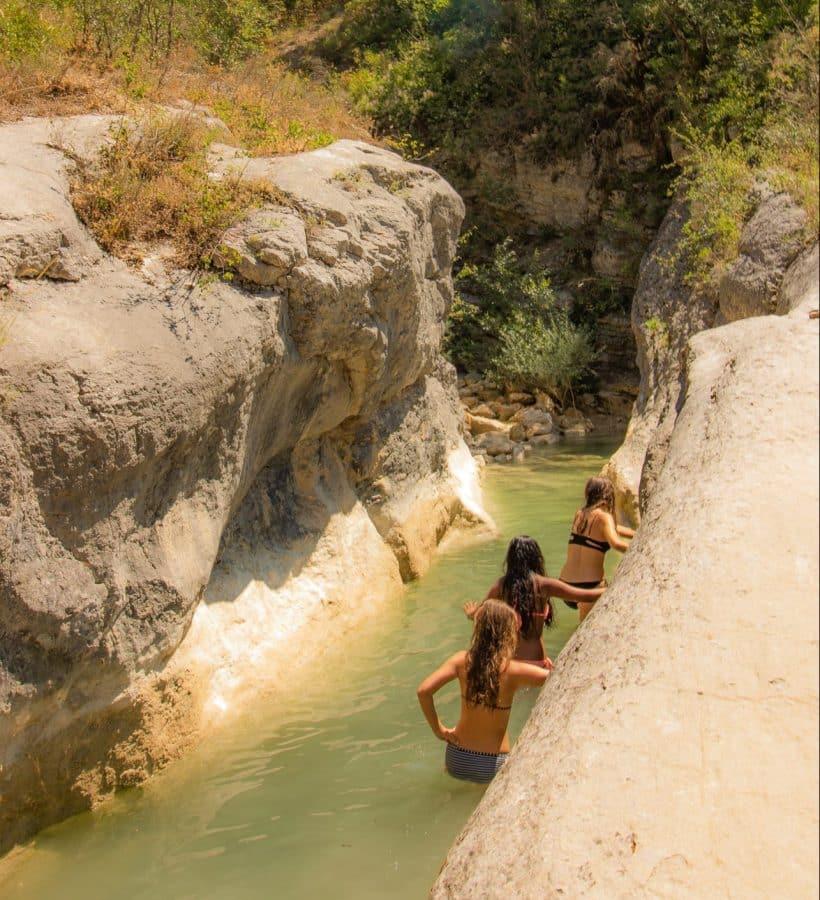 Se baigner dans nos piscines naturelles