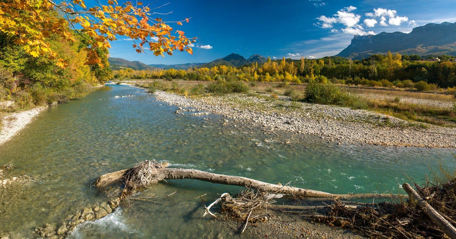 Vallée de la Drôme, attractions naturelles ©Florent Debaud