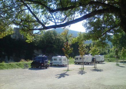 Aire Camping-Cars de Saillans