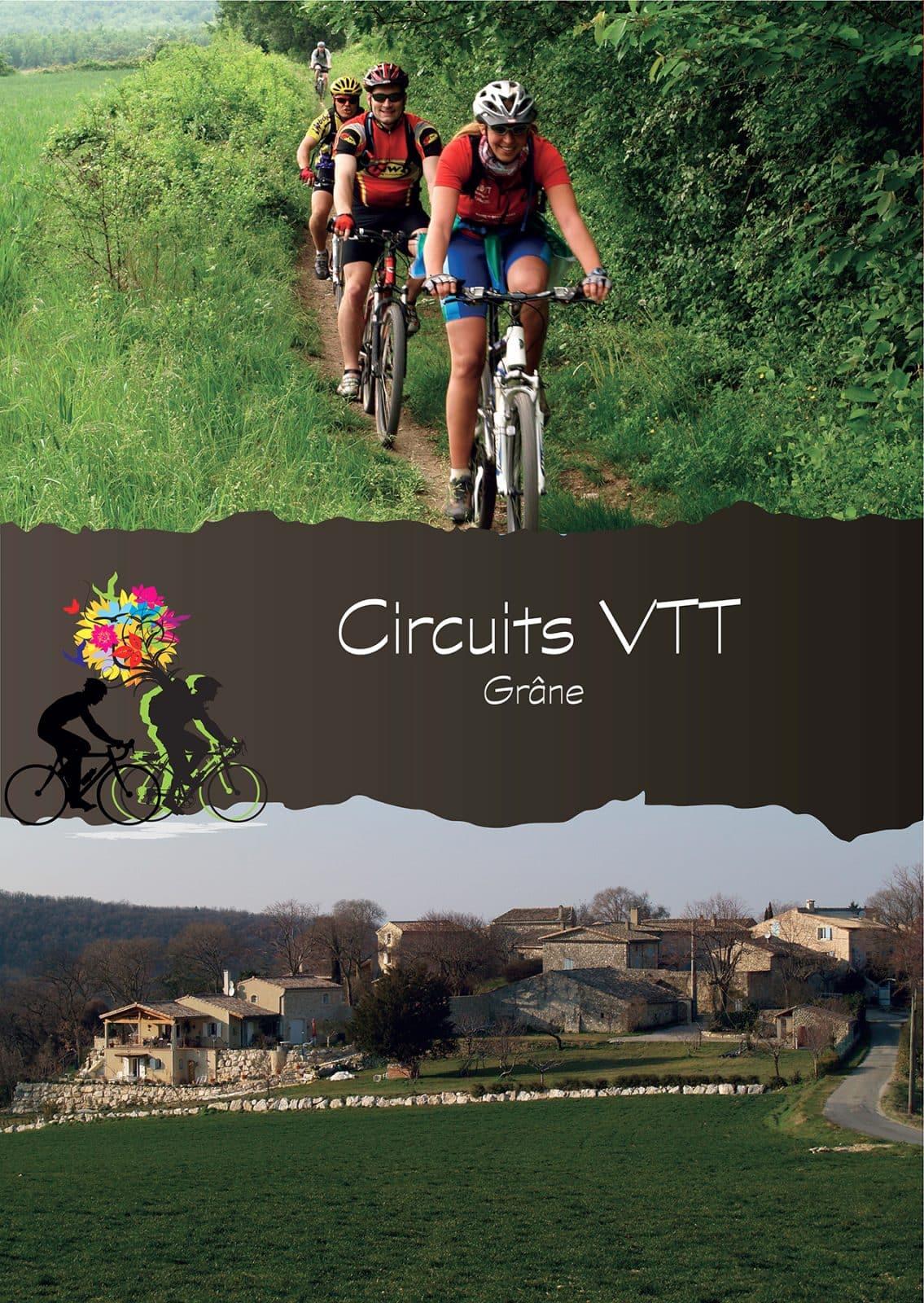 Couverture pochette Circuits VTT – Grâne