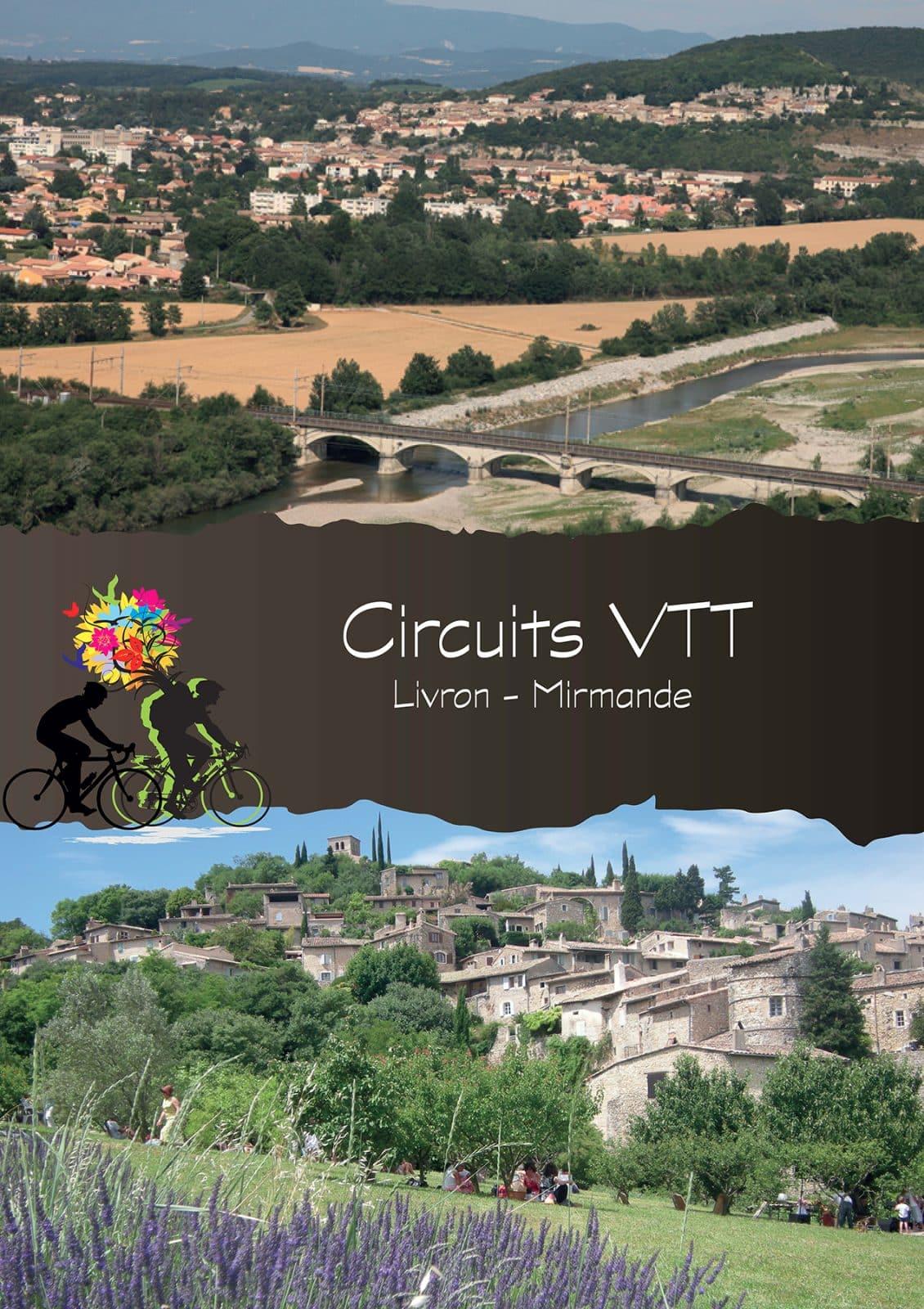Couverture pochette Circuits VTT – Livron-Mirmande