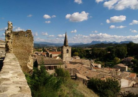 Visite du vieux village de Grâne et de son clocher pour les groupes
