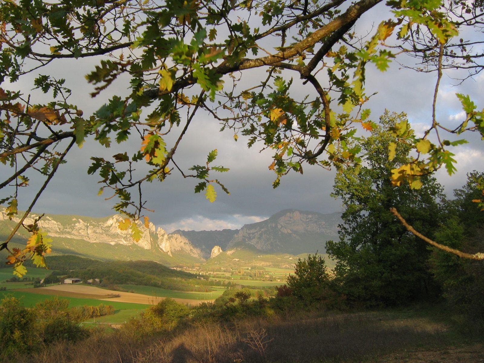 Vue depuis le plateau de Quinson