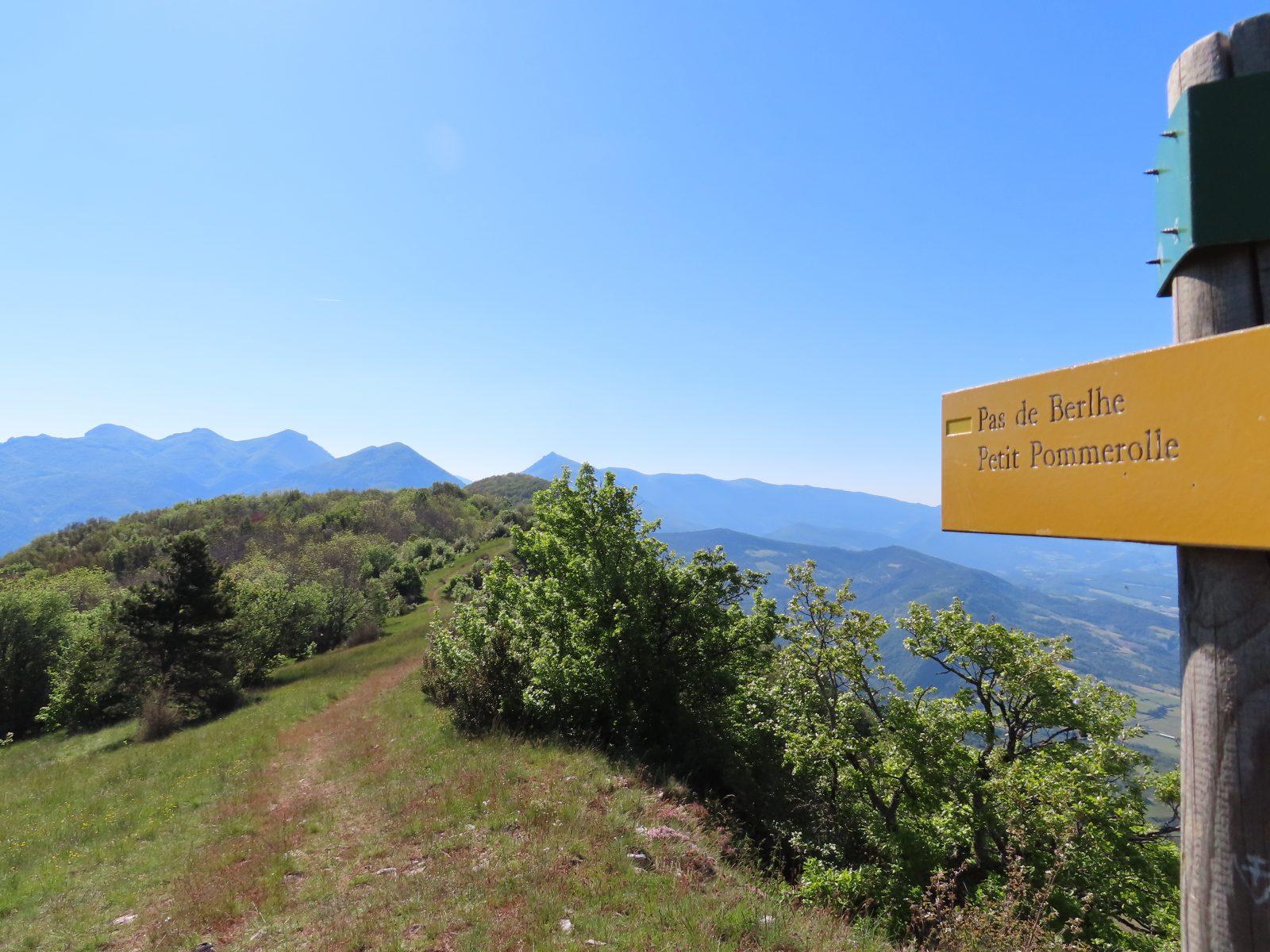 Vue depuis le Grand Pomerolle