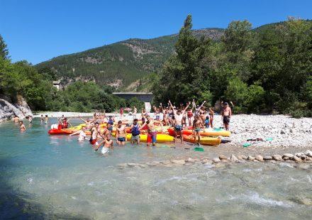 Canoë-kayak et Rafting avec EVA Location