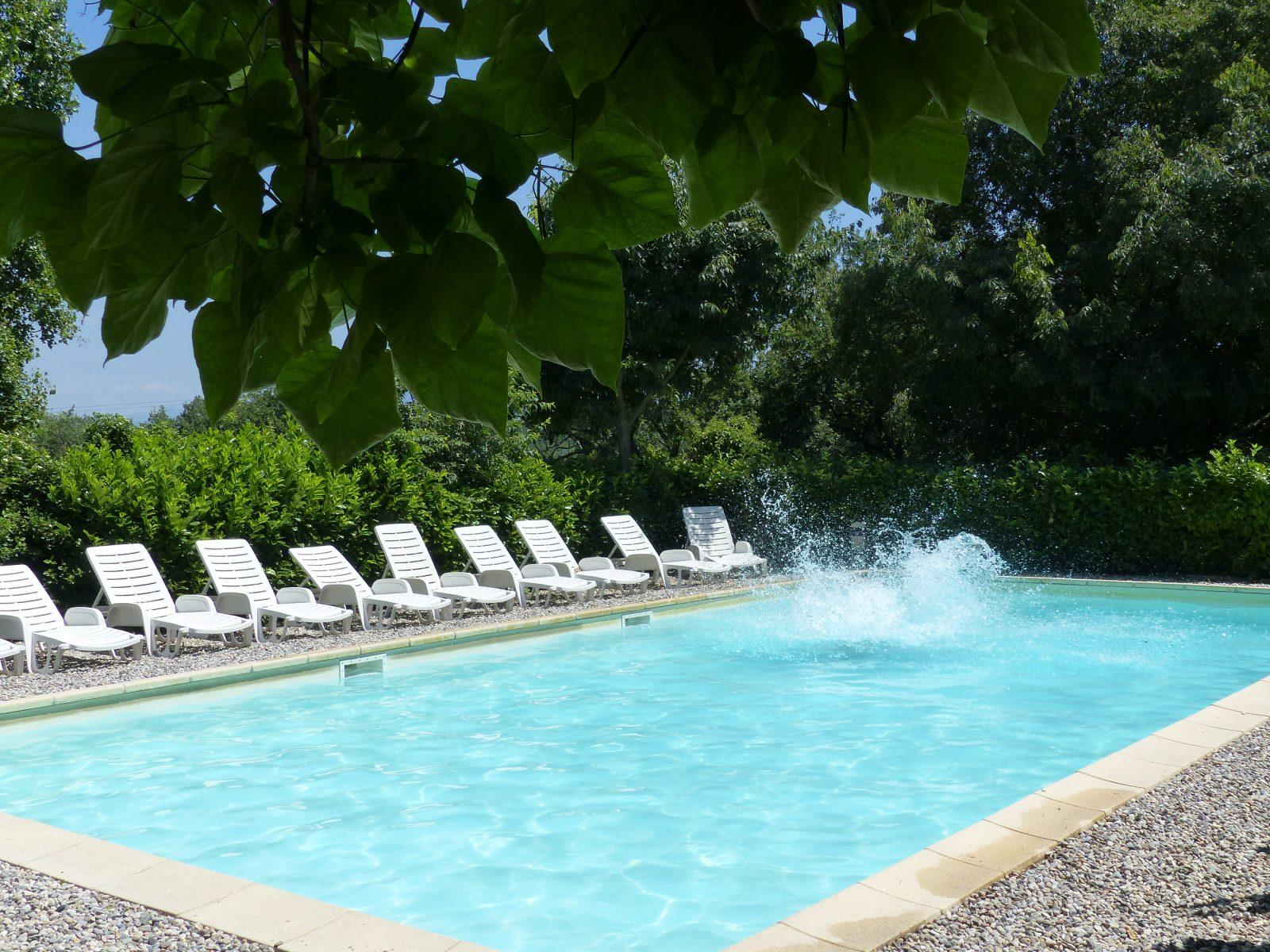 piscine Domaine de la Ruche Apis Ligustica