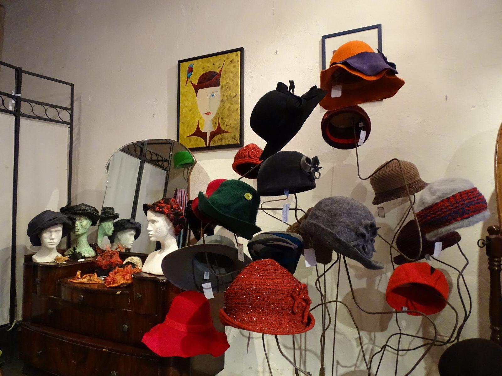 Forêt des chapeaux