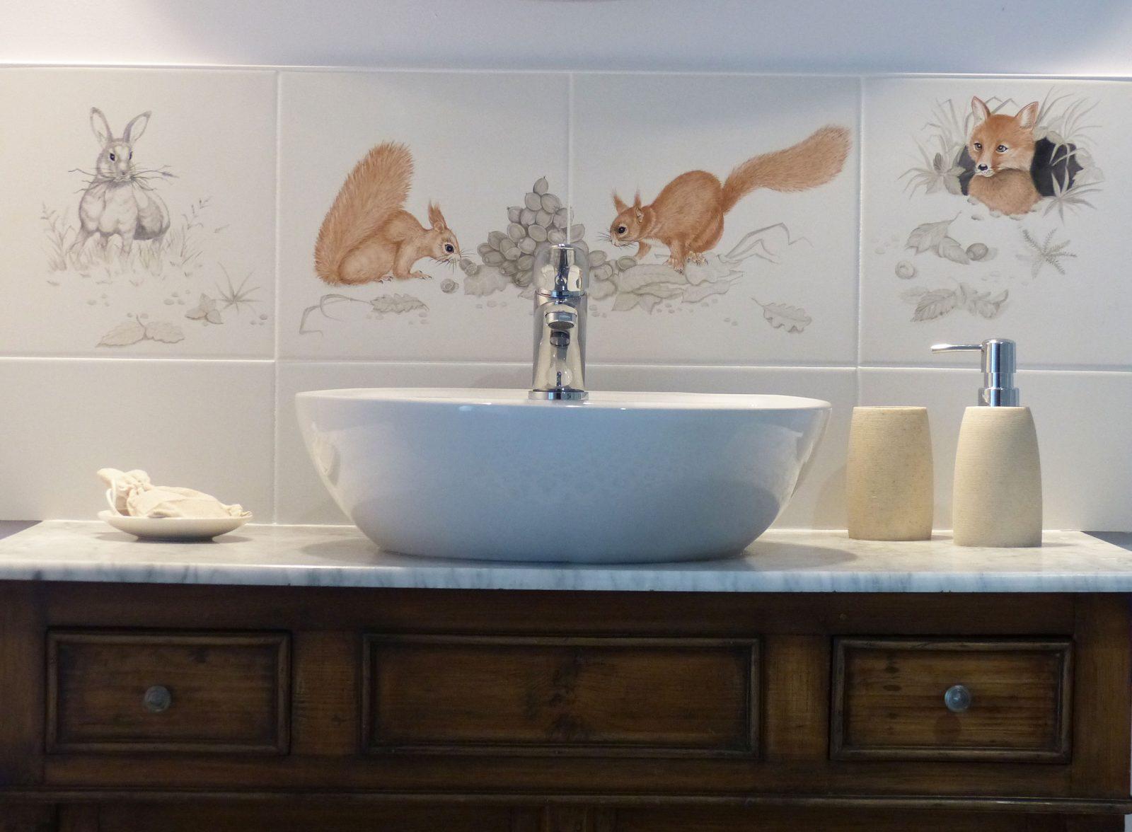 L'Amiradou – salle de bain Eschirous