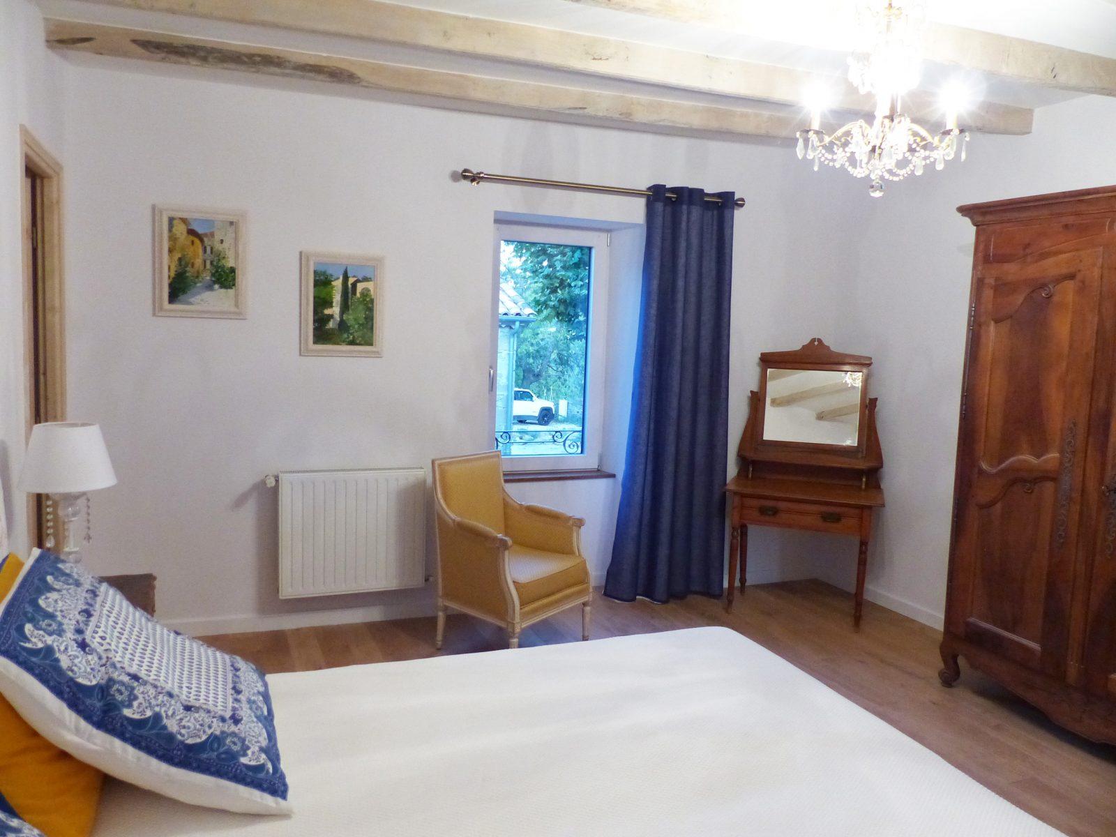 L'Amiradou – chambre Souleïado