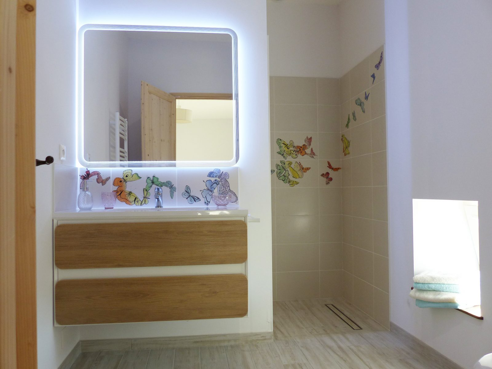 L'Amiradou – salle de bain Parpaïouns