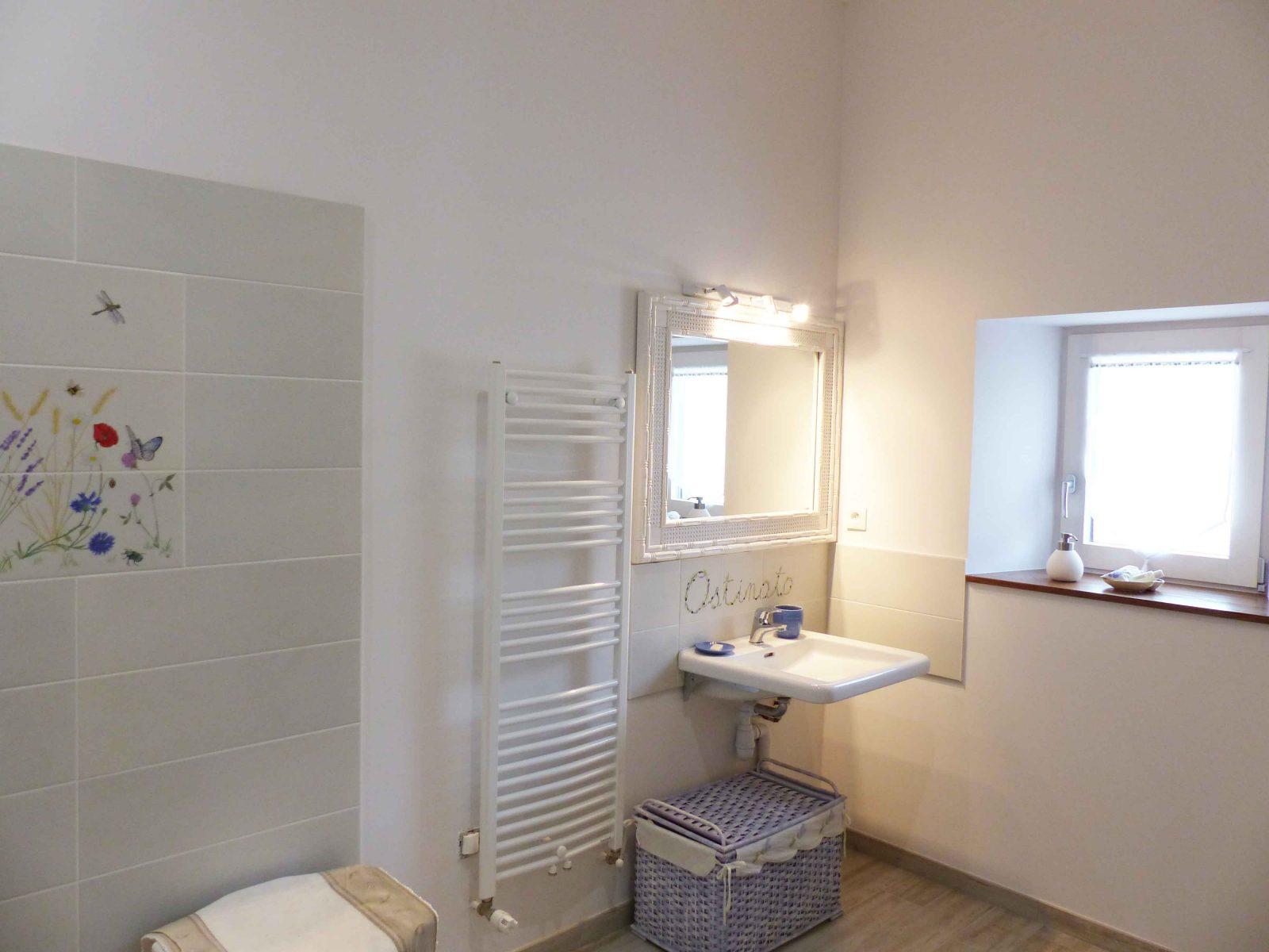 L'Amiradou – salle de bain Ostinato