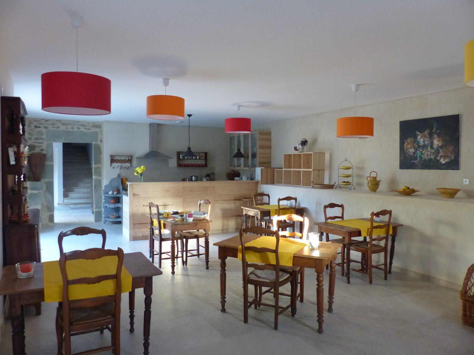 L'Amiradou – salle à manger d'hôtes
