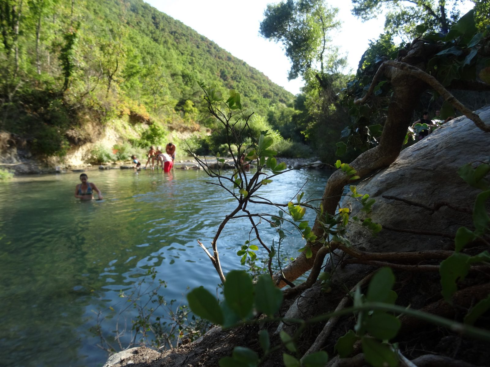 Baignade dans la Gervanne