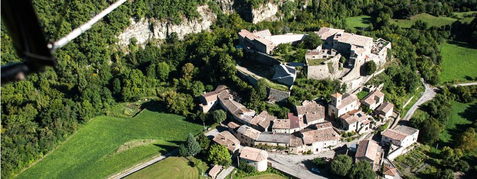 Vue panoramique du Poët Celard