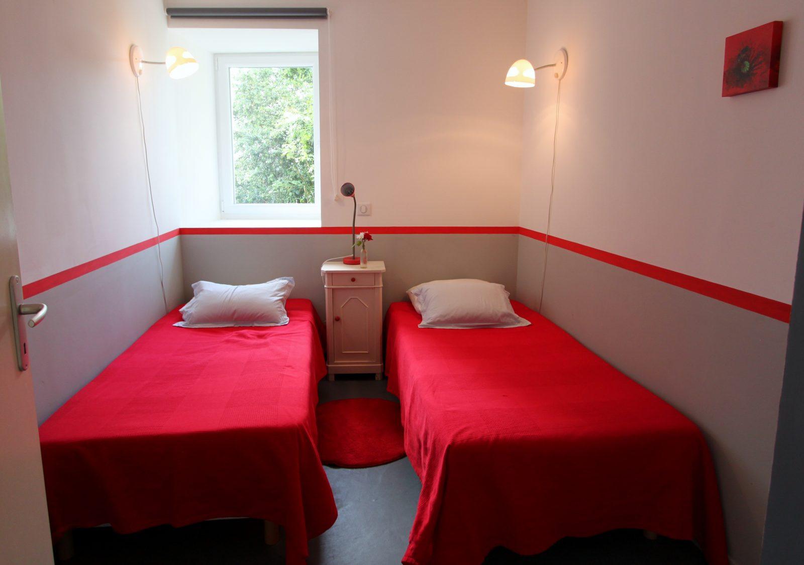 Une des 3 chambres