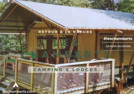 Les Chamberts, Camping et Lodges