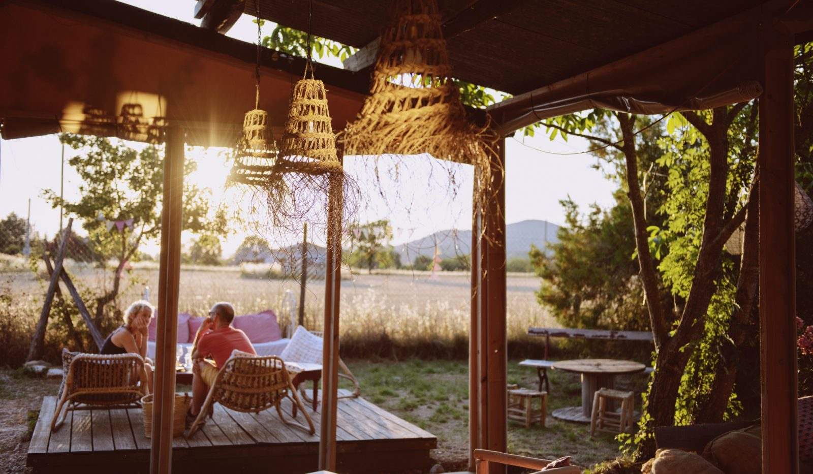 Les Chamberts- Camping et lodges- Bar détente