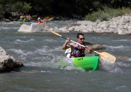 Canoë Kayak et mini raft avec Canoë Drôme