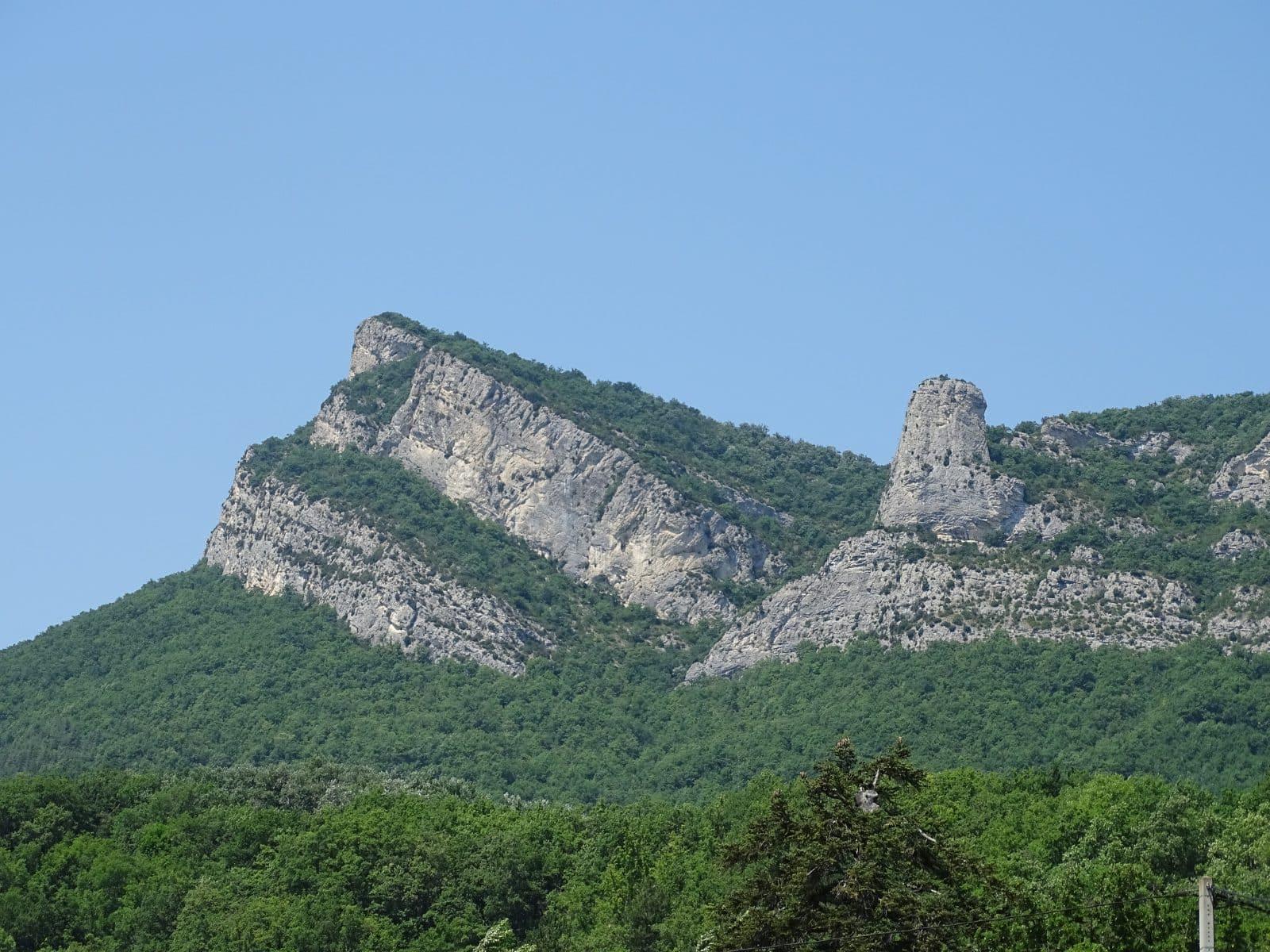 Montagne de Roche Colombe et la Poupoune