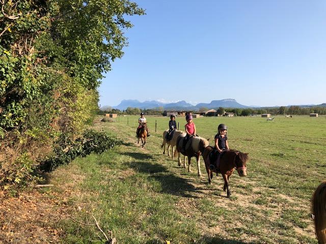 Ballade poneys